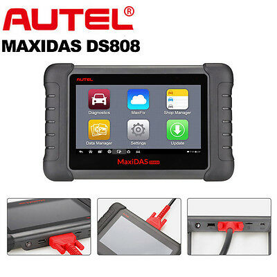Autel MaxiDAS DS708 Pro Analysis System OBD2 Automotive Diagnostic Tool Scanner