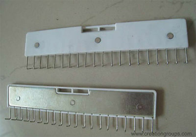 2 Pin Type Long Claw Weight Lace Claw Weight Wide Hanger for Brother Silver Reed