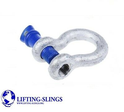 Economy Screw Pin Alloy Bow Lifting Shackles 0.33ton to 8.5ton - 4x4 Recovery