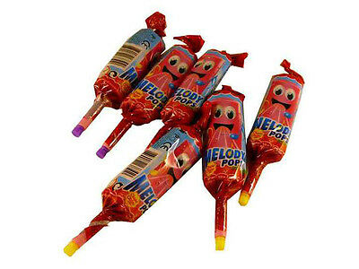 Melody Pop Toot Sweet Retro Favourite - Strawberry Flavour   1 x pop