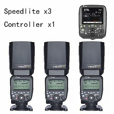 YONGNUO YN600EX-RT Flash Speedlite + SN-E3-RTs as ST-E3-RT Controller for Canon