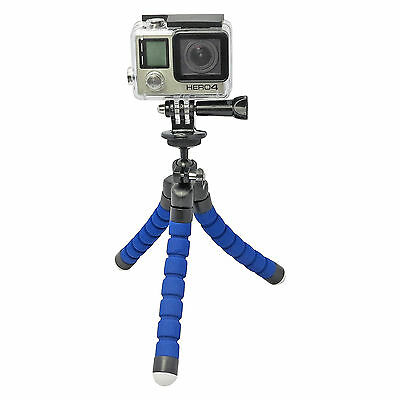 Mini 360° Rotatable Octopus Tripod Stand Holder for Gopro 3/3+4 SJ Smart Phones
