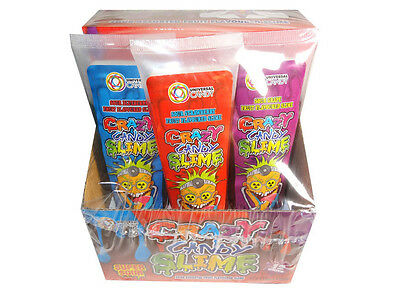Crazy Candy Slime in Squeezable Tube (1 x tube)