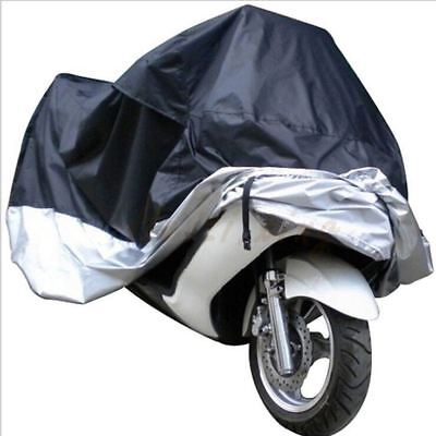 Bike it Deluxe Polyester Ventilated Motorcycle Motorbike Raincover Heavy Duty -M