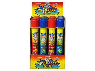 TNT Mega Sour Liquid Candy Roller - Strawberry / Blue Raspberry 1 x Roller