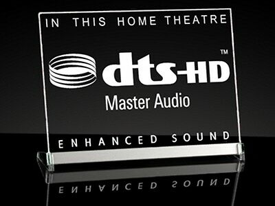 "LED Leuchtschild ""dts-HD (Home Theatre)"""