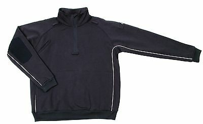 Blackhawk Job Shirt Sweatshirt mit Reflexpaspel navy