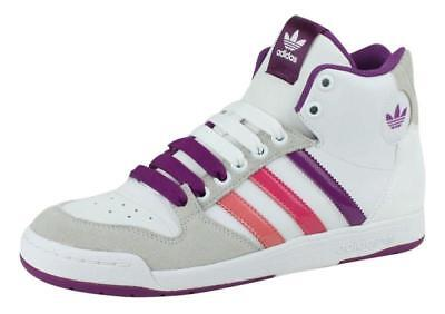 best loved 19daf 5bfaa Womens ADIDAS MIDIRU COURT MID W White Trainers V22958 UK 8  EUR 42