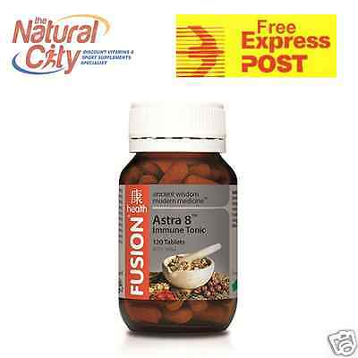 Fusion Astra 8 Immune Tonic 120tabs- FREE EXPRESS POST