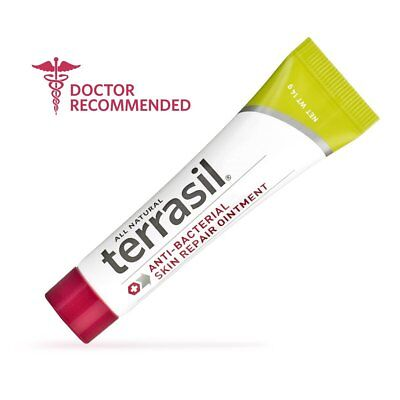 Terrasil Anti-Bacterial Skin Repair Ointment 14g Tube