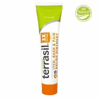 Terrasil Itch Rash & Pain Relief Ointment 14g