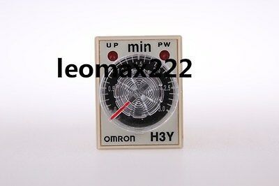 Time timer relay 8pin H3Y-2 H3Y AC110V 5A 3 Minutes 3.0Min New