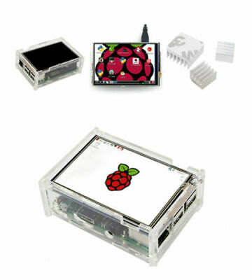 New 3.5'' 320*480 Touch screen LCD Display Board with Case for Raspberry Pi 3