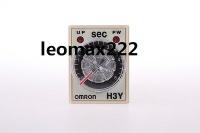 DC 24V 8P Terminals DPDT 5 Seconds 5S Delay Timer Time Relay H3Y-2 Hot