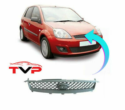 Ford Fiesta Mk6 2006-2008 Front Grille Main Centre New Insurance Approved