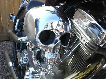 Life Size Skull Air Cleaner Assembly - FREE SHIPPING