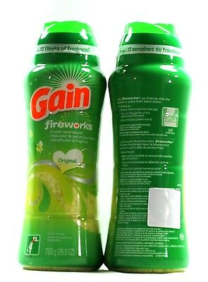 2 Gain Fireworks In Wash Scent Booster Original Scent  26.5 oz.