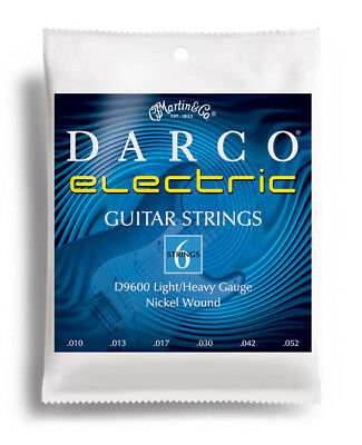 Martin Darco D9600 Electric Guitar Strings .010-.052