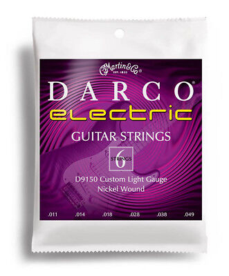 Martin Darco D9150 Electric Guitar Strings .011- .049