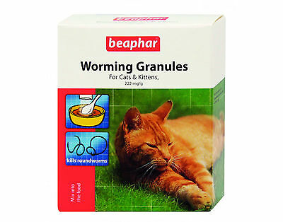 Beaphar Worming Granules For Cats And Kittens