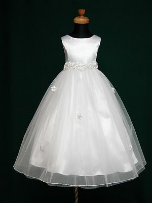 Baby Girls Angela Flower Party Wedding Birthday Princess Communion  Dress