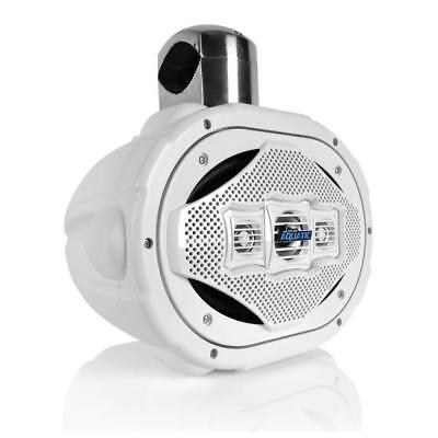 "Lanzar AQAWBS69WT Aquatic 6"" x 9"" Bluetooth Marine Wakeboard Speaker, 1200W"