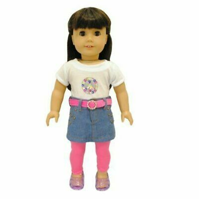 Doll Clothes 4-Piece Mix & Match Fits American Girl & Other 18 Inch Dolls New