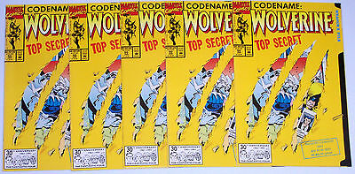 WOLVERINE #50 (NM) 5 copies! Cool Die-Cut Cover! 1991 Giant-Size 64 Pages!