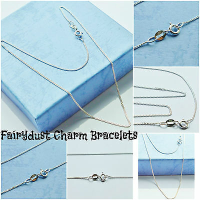 """baby sterling silver 14""""ins chain or 16""""ins 18""""ins for pendant Christening B'day"""