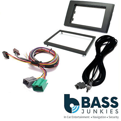 Car Stereo Fitting Kit Amp Bypass /& Park Tone Restore for Volvo XC90 2004-14