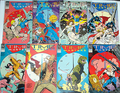 TIME MASTERS #1-8 (NM-) Full Set! Rip Hunter! CW Legends of Tomorrow TV Show DC