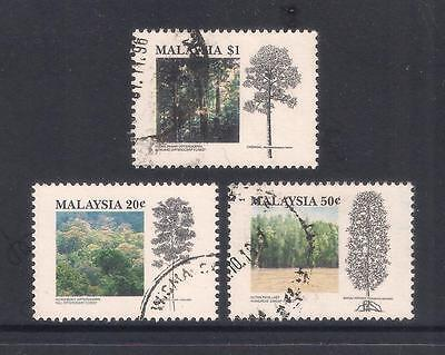 (UXMY019) MALAYSIA 1992 Tropical Forests fine used set