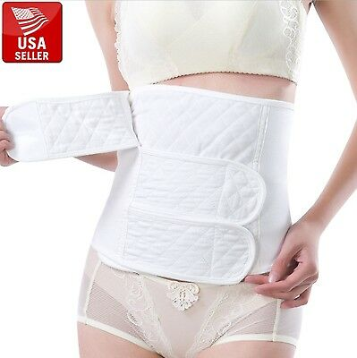 Postpartum Recovery Maternity Corset Back Support Shaper Slim Belt Belly Band