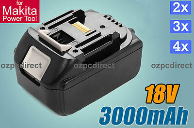 AU 3.0Ah 18V Battery For Makita BL1830 BL1815 LXT Lithium Ion Heavy Duty Power