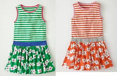 GIRLS BNWOT EX MINI BODEN JOLLY JERSEY VEST DRESS 18-24 2 3 4 5 6 7 8 9 10 yrs
