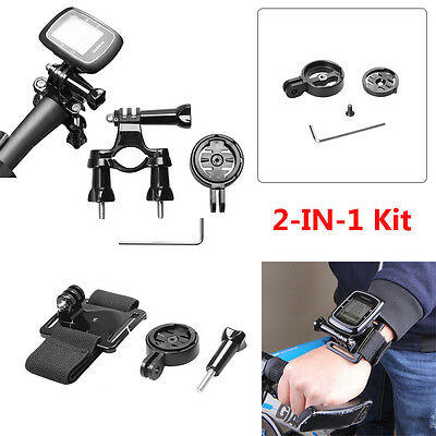 Bicycle Handlebar Mount+Wrist Belt For Garmin Edge GPS 25 500 510 520 810 1000