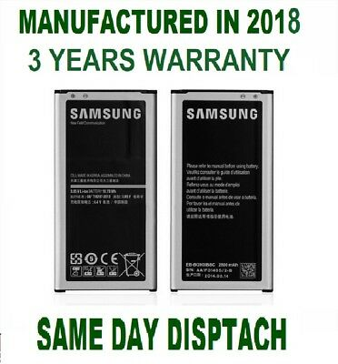 Official Genuine Samsung Galaxy S5 Battery GT-i9600 EB-BG900BBEGWW NFC 2800