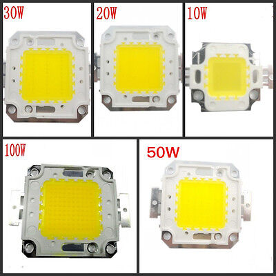 10W 20W 30W 50W 100W LED LED Lamp SMD Chips For Flood Light DIY located in AU