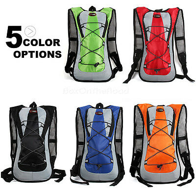 5L Rucksack Pack Backpack + 2L Water Hydration Bladder Bag Cycling Bike Running