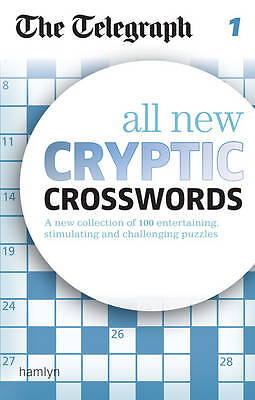 The Telegraph All New Cryptic Crosswords vol 1 BRAND NEW BOOK (Paperback)