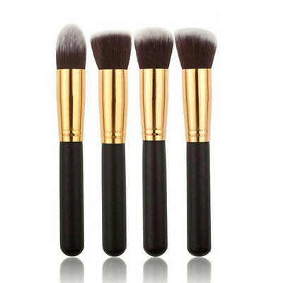 4pz Set Professionale Make up Pennelli Trucco Visage yeux Cosmetici Brush Set