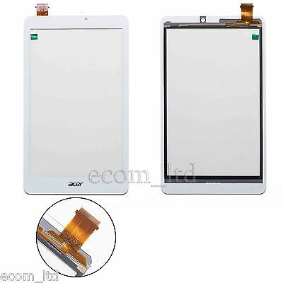 """Acer W1-810 White Digitizer Touch Screen Lens Glass Pad 8"""" Tablet Iconia Tab 8 W"""