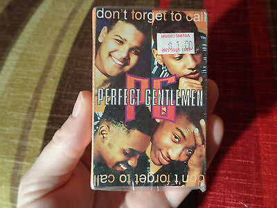 PERFECT GENTLEMEN_Don't Forget To Ca_used cassette cassingle_ships from AUS!__A7