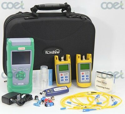 Fiber Optic Test Kits with QX40 OTDR/Optical Power Meter&Optical Light Sourc/VFL