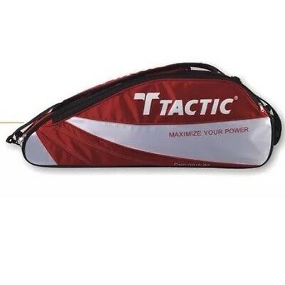 Tactic 658 Three Badminton Racket Thermo Bag - Red - Rrp £60