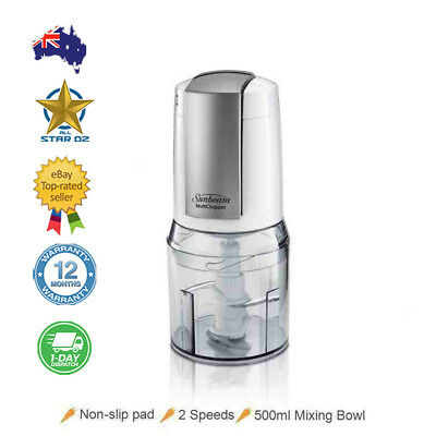 Vegetable  Chopper Fruit Slicer Cutter Dicer Sunbeam MultiChopper Food Processor