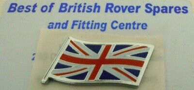 Genuine MG Rover Union Jack Flag Enamel Badge DAG000080 NEW