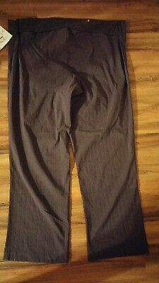 Bundle Of Joy Brand Ladies Plus Size Maternity Pants In Size 1 X  In Grey New