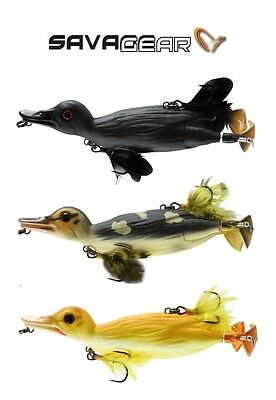 Savage Gear 3D Duck Floating Topwater Swimbait Select Size/color