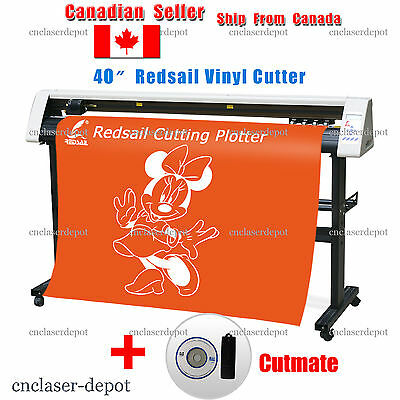 "New 40"" Redsail Vinyl Cutter Cutting Plotter With Cutmate From CorelDRAW RS1120C"